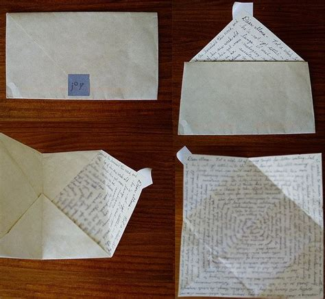 Cool Ways To Fold A Paper - 15 best ways to fold notes images on