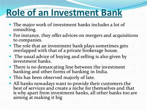 Study On Investment Banking Kotak What Is Investment Banking Ppt