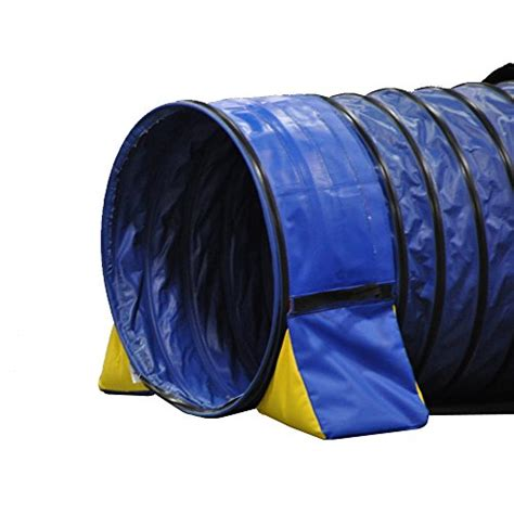 agility tunnel cool runners tunnel hugging non constricting pvc agility tunnel bag set