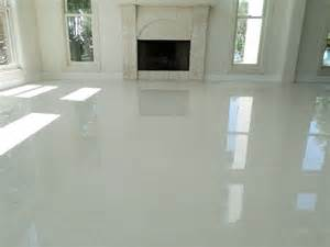How To Lay Tile Floor In Kitchen - how to install tile teppo interiors 24 quot x 24 quot white polished porcelain tile w white grout
