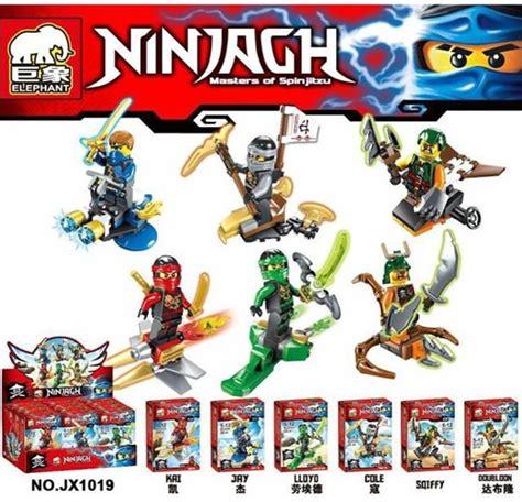 Lego Jlb Minifigures Shippuden 1 Seri Isi 6 Lego Brick mainan lego lego kw murah banyak macam jakarta
