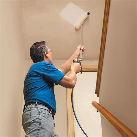 spray painter vs roller graco 244512 pressure roller kit home improvement