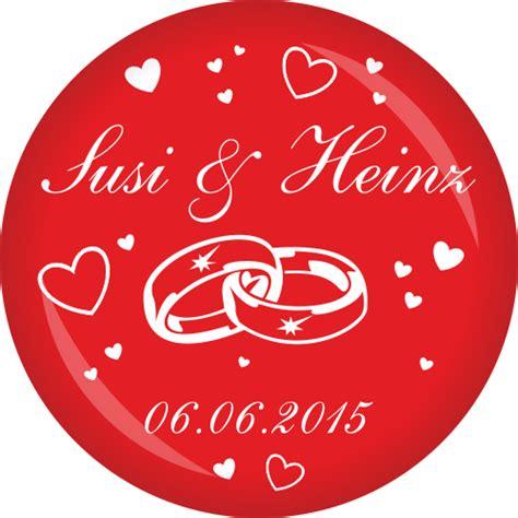 Hochzeit Namen by Button Hochzeit Ringe Namen Datum 216 50 Mm