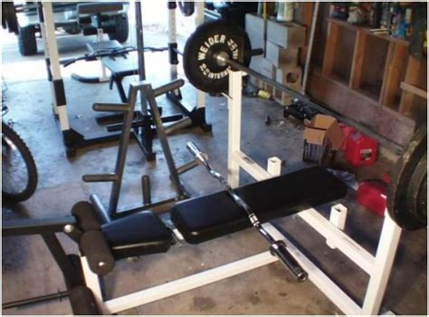 parabody weight bench parabody serious steel workout center model 807 olympic