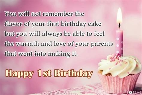Happy 1st Birthday Wishes 1st Birthday Wishes Messages Quotes Images For Facebook
