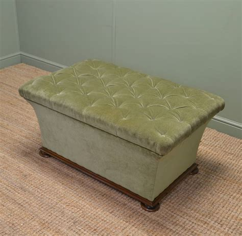 large upholstered ottoman large quality antique upholstered ottoman