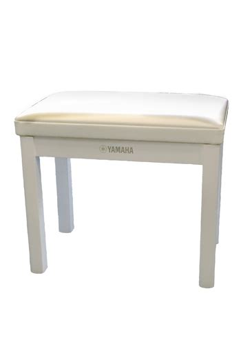 white piano bench yamaha polished white piano bench gtbpw