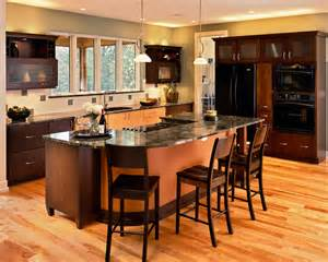kitchen island with cooktop kitchen contemporary with bar