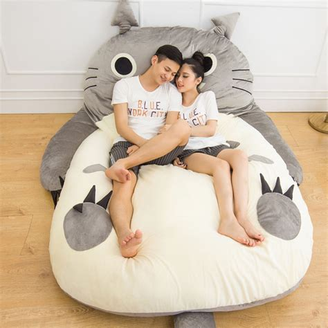 giant totoro bed aliexpress com buy 200x170cm large matelas totoro double