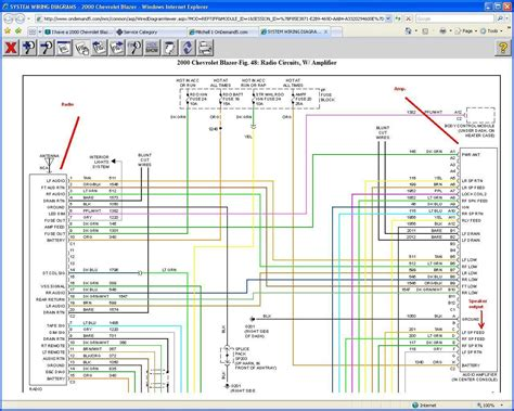 s10 radio wiring harness diagram wiring diagram manual