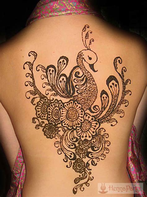 henna tattoo artist ta fl back and chest henna designs henna