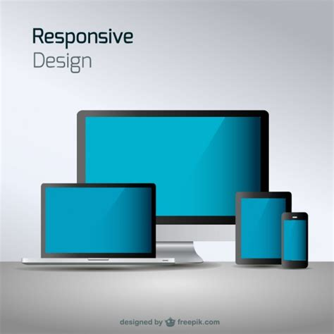 design responsive free responsive web design technology vector free download