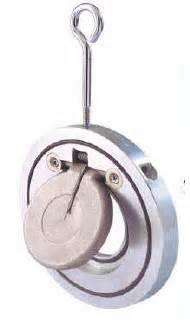 Check Valve Wafer Ss316 Single Door 4 Pn40 Interflow arita pn40 stainless steel 316 single door check valve