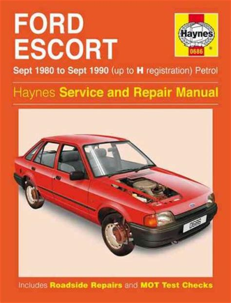 car repair manuals download 1986 ford escort transmission control ford escort petrol 1980 1990 up to h registration sagin workshop car manuals repair books