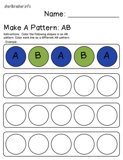 pattern math practice 31 best images about pattern worksheets on pinterest