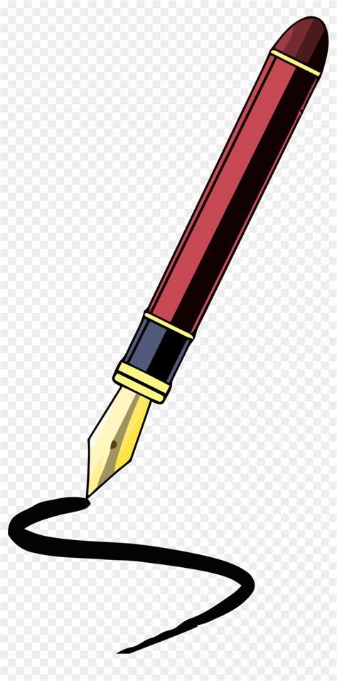 pen clipart fancy pen clipart png writing pen clip png free