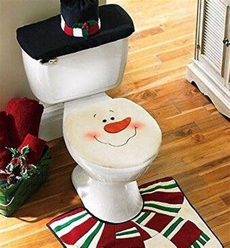 santa toilet seat cover and rug set uk snowman santa toilet seat cover and rug set for bathroom