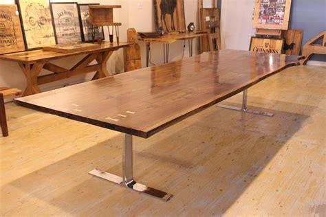 twelve foot sliding door twelve foot live edge dining table rebarn toronto