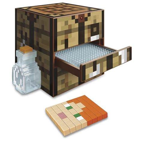 Lego Table Toys R Us Minecraft Crafting Table Playset Mattel Minecraft