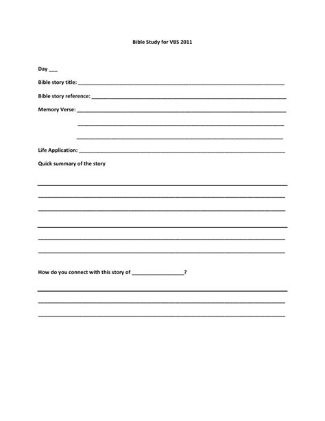 study guide outline template helping children embrace bible study bible study template