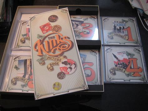 kinks picture book box set the kinks picture book 6cd box set catawiki