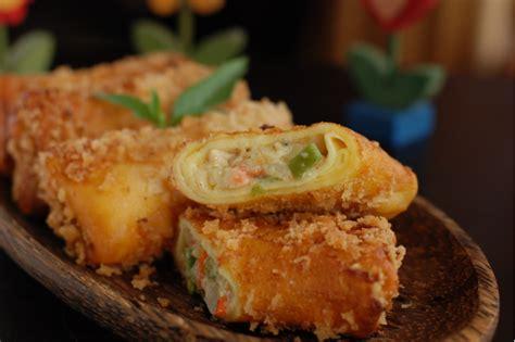 resep membuat risoles tanpa tepung panir cara membuat risoles ayam nikmat lezat resep cara masak