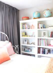 Bedroom Bookshelves Our Cozy New Guest Room Amp Home Library With Three Target