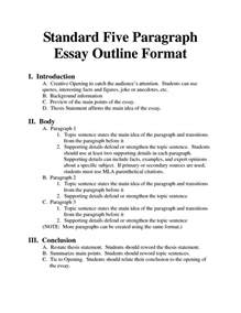 Best Resume Examples For Highschool Students by Standard Essay Format Bing Images Essays Homeschool Pinterest Paragraph Outlines And
