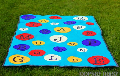 make your own abc mat oopsey