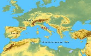 Mediterranean Sea On World Map by Map Of Europe Cities Pictures Mediterranean Sea Map Area