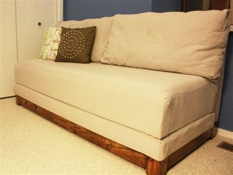 diy couch bed pinterest