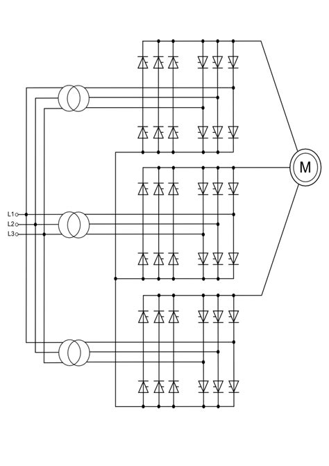 Cycloconverters - Introduction with Schematic, Types and