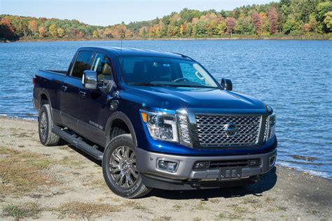 nissan titan xd platinum reserve wd  cool  blue roadshow