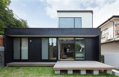 compact wooden home with japanese details for