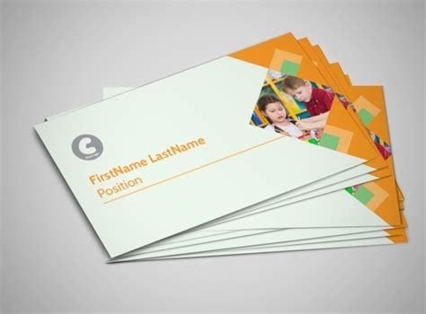 school business card templates early years day care business card template mycreativeshop