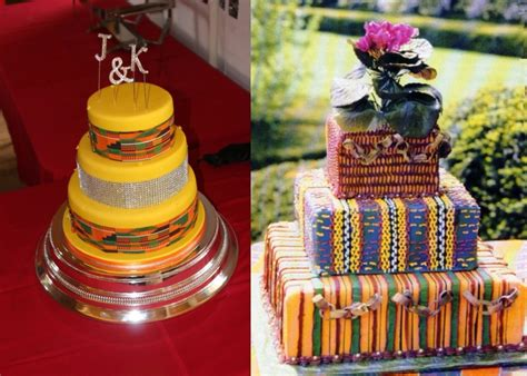 traditional cake decorations these ghanaian traditional wedding cakes are spectacular