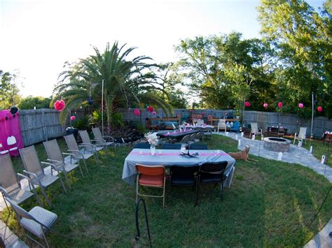 sweet 16 backyard party ideas backyard party decor 187 backyard and yard design for village
