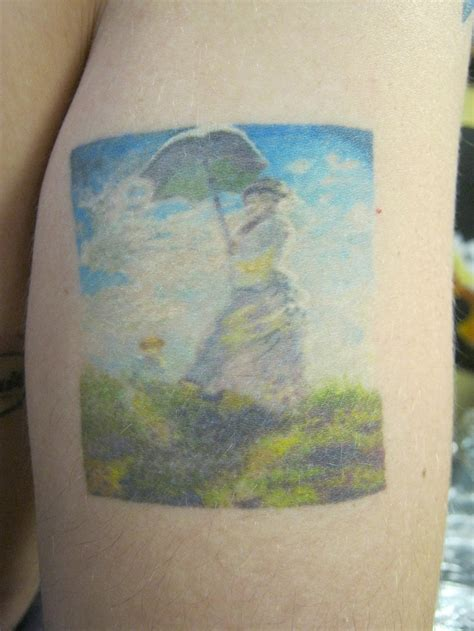 monet tattoo monet micro mini painting nate rogers by zeek911 on