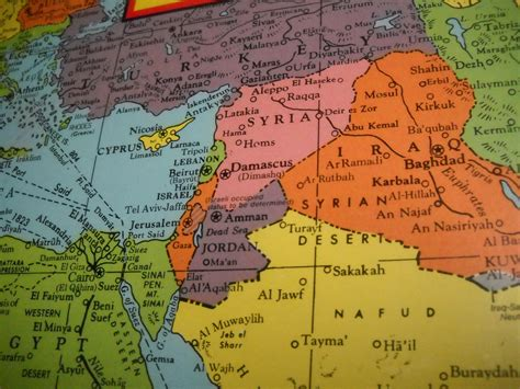 middle east map conflict american map jigsaw puzzle middle east conflict map still