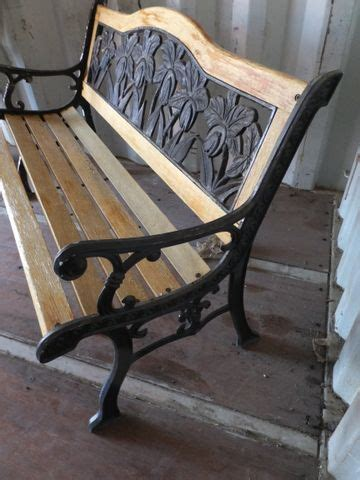 wood and iron garden bench lot detail pretty floral wrought iron and wood garden bench