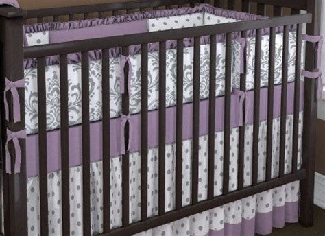 Purple And Grey Crib Bedding Sets Crib Bedding Set Purple Zig Zag