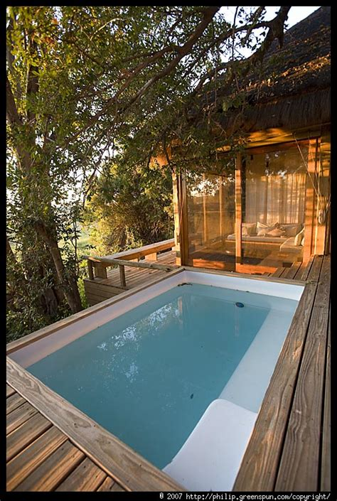 Plunge Pool Room by Photograph By Philip Greenspun Room Plunge Pool Sunlight