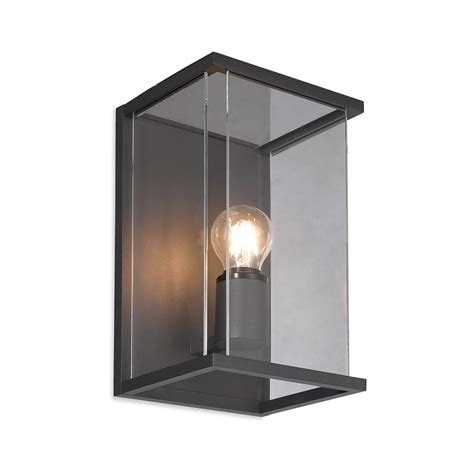 Patio Wall Lights Firstlight 5945gp Carlton 1 Light Graphite Outdoor Wall Light
