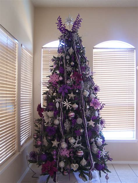 purple and tree decorations 17 best ideas about silver tree on