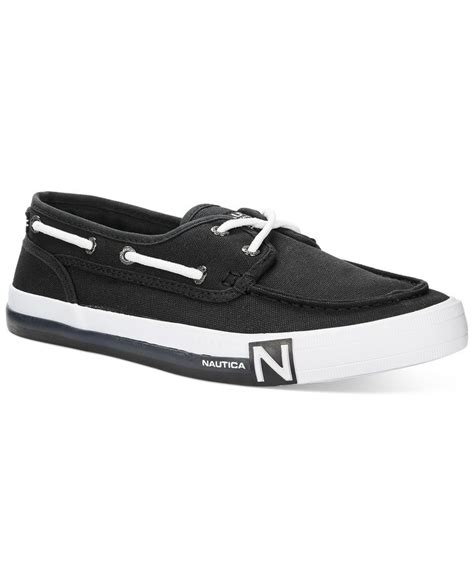 boat shoes nautica nautica spinnaker ii boat shoes products pinterest