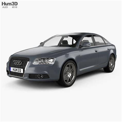 Audi A6 Modell by 3d Audi A6 Sedan Model