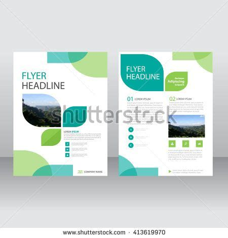 brochure templates for books eco green vector annual report leaflet brochure flyer