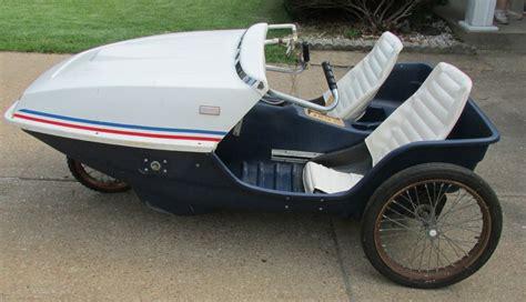 adult pedal powered cars 1970 s mark iii people powered vehicle ppv 3 wheel