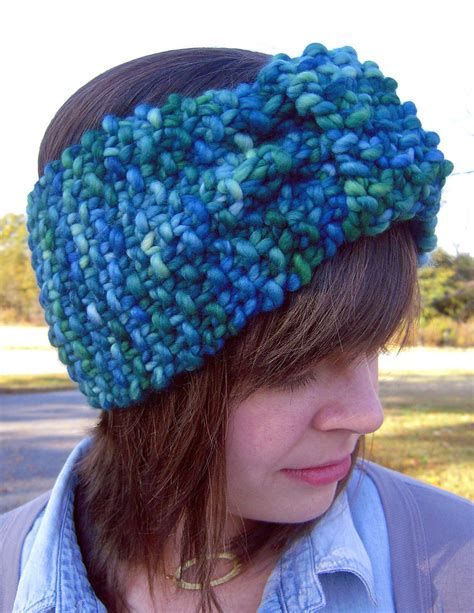 yarn headband pattern free knitting for two hour turban signe marie richter s