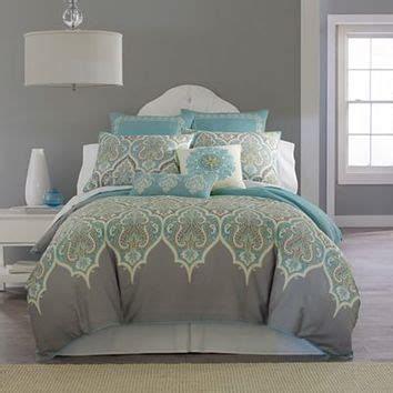 jc bedding jcpenney kashmir comforter set from jcpenney bedroom